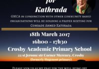 Kathrada remains hospitalised
